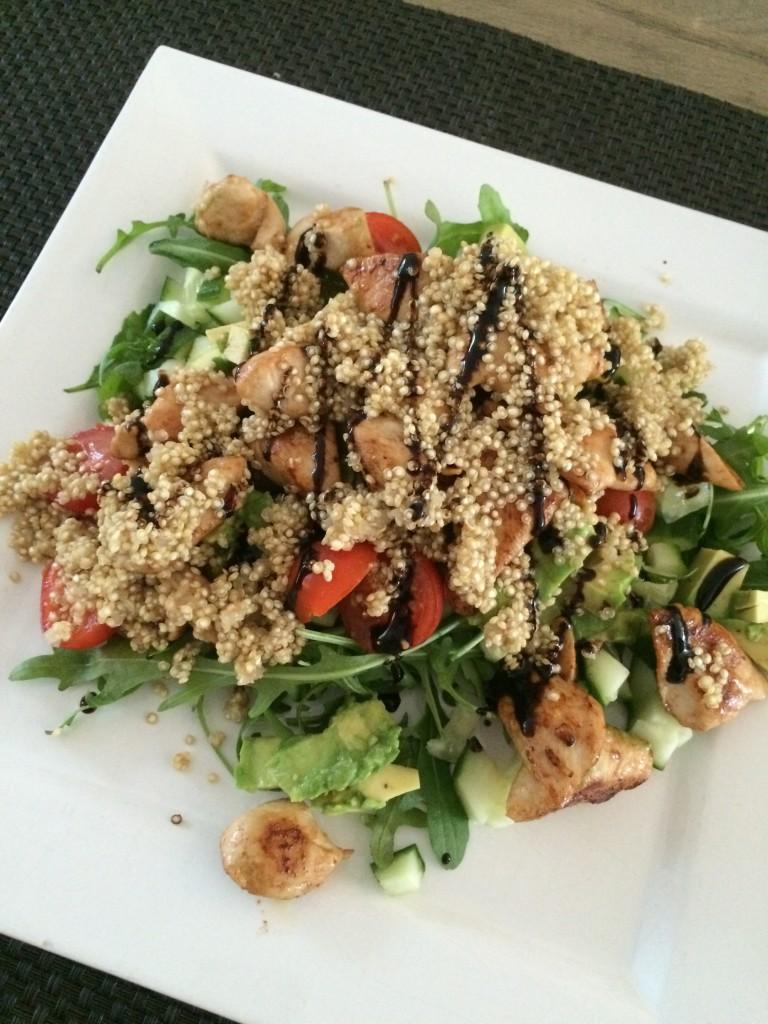 kyllingsalat med quiona